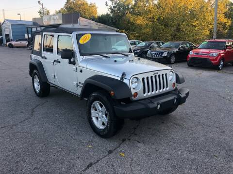 2012 Jeep Wrangler Unlimited for sale at LexTown Motors in Lexington KY