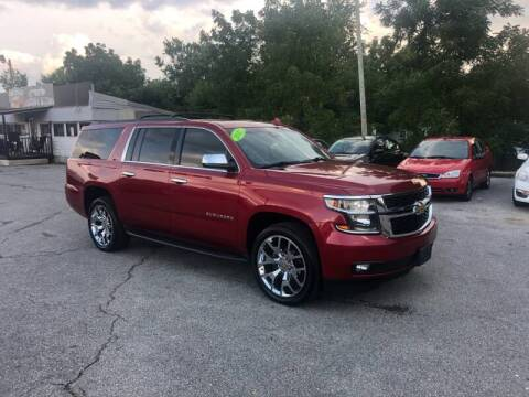 2015 Chevrolet Suburban for sale at LexTown Motors in Lexington KY