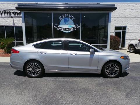 2017 Ford Fusion for sale in Wilmington, NC