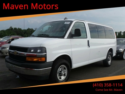 2017 Chevrolet Express Passenger for sale in Baltimore, MD