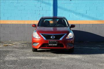 2016 Nissan Versa for sale in Baltimore, MD