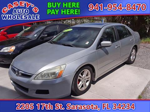 2007 Honda Accord for sale in Sarasota, FL
