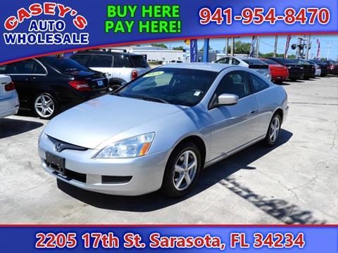 2005 Honda Accord for sale in Sarasota, FL