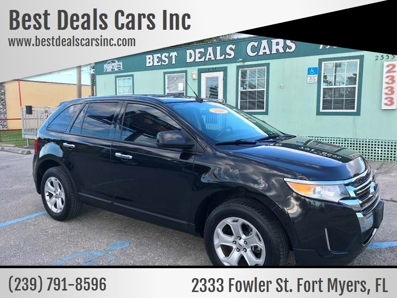 Ford Edge Sel Dr Crossover Fort Myers Fl