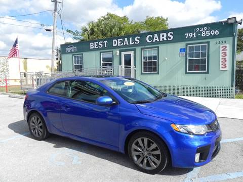 2012 Kia Forte Koup for sale in Fort Myers, FL