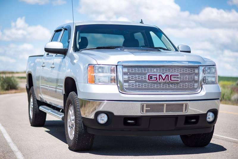 2014 GMC Sierra 2500HD 4x4 SLT 4dr Crew Cab SB - Caldwell ID