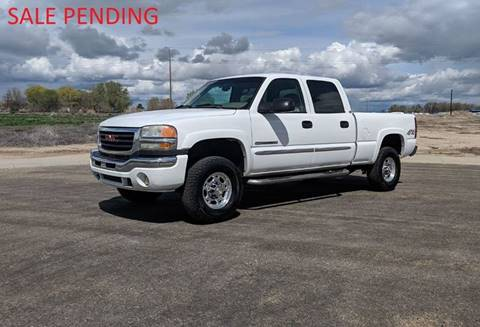 2005 GMC Sierra 2500HD for sale in Caldwell, ID