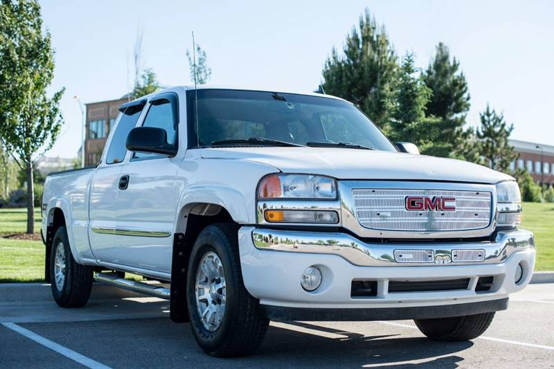 2007 gmc sierra 1500 classic slt 4dr extended cab 4wd 6 5 ft sb in caldwell id silverado auto. Black Bedroom Furniture Sets. Home Design Ideas