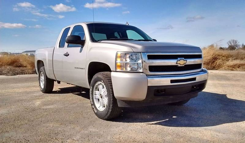 2009 chevrolet silverado 1500 4x4 work truck 4dr extended cab 5 8 ft sb in caldwell id. Black Bedroom Furniture Sets. Home Design Ideas