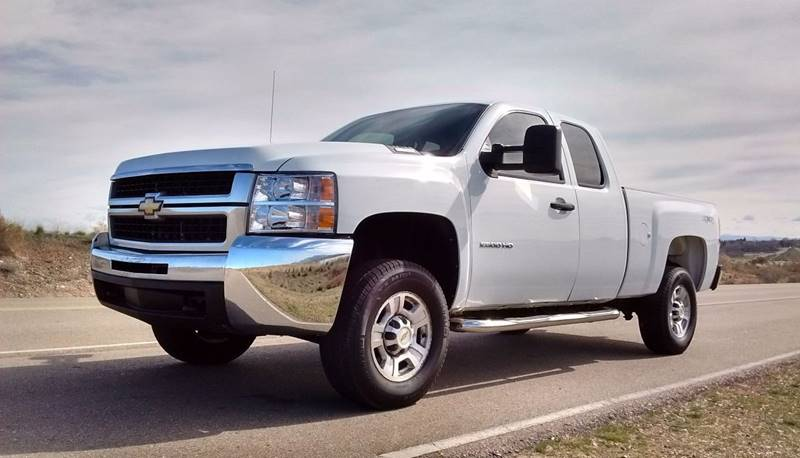 2008 chevrolet silverado 2500hd 4wd work truck 4dr extended cab sb in caldwell id silverado. Black Bedroom Furniture Sets. Home Design Ideas