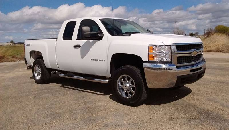2007 chevrolet silverado 2500hd work truck 4dr extended cab 4wd sb in caldwell id silverado. Black Bedroom Furniture Sets. Home Design Ideas