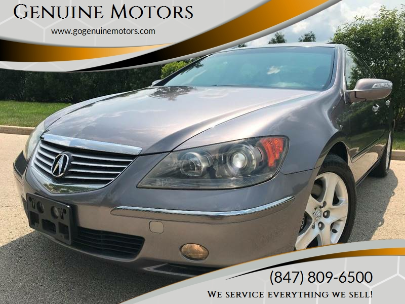 Acura RL SHAWD In Schaumburg IL Genuine Motors - 2005 acura rl for sale by owner