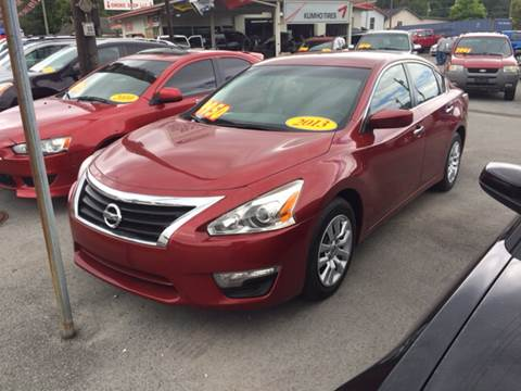 2013 Nissan Altima for sale in Middlesboro, KY