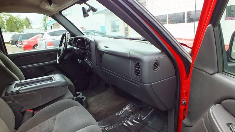 2005 Chevrolet Silverado 1500 4dr Extended Cab Z71 4WD SB - Tillamook OR