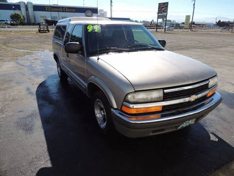 1999 Chevrolet S-10 for sale in Tillamook, OR