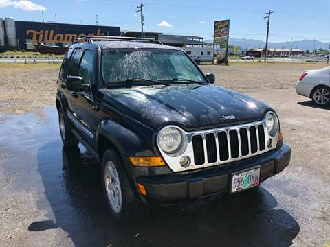 2007 Jeep Liberty for sale in Tillamook, OR