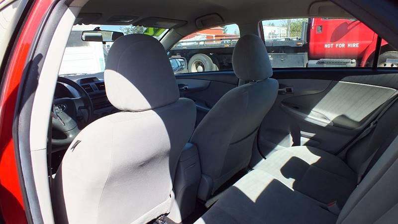 2012 Toyota Corolla LE 4dr Sedan 4A - Tillamook OR
