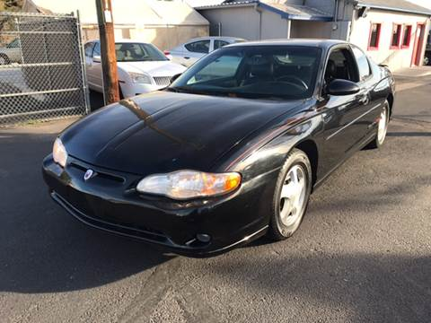 2001 Chevrolet Monte Carlo for sale in Phoenix, AZ