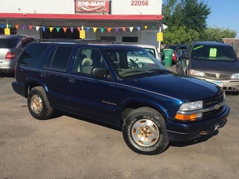 1999 Chevrolet Blazer for sale in Farmington, MN