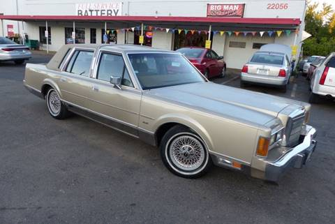1989 Lincoln Town Car for sale in Farmington, MN