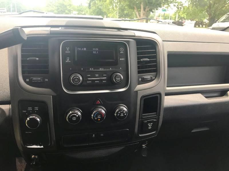 2013 Dodge Ram Pickup 1500 base model 4x4 - Brookhaven MS