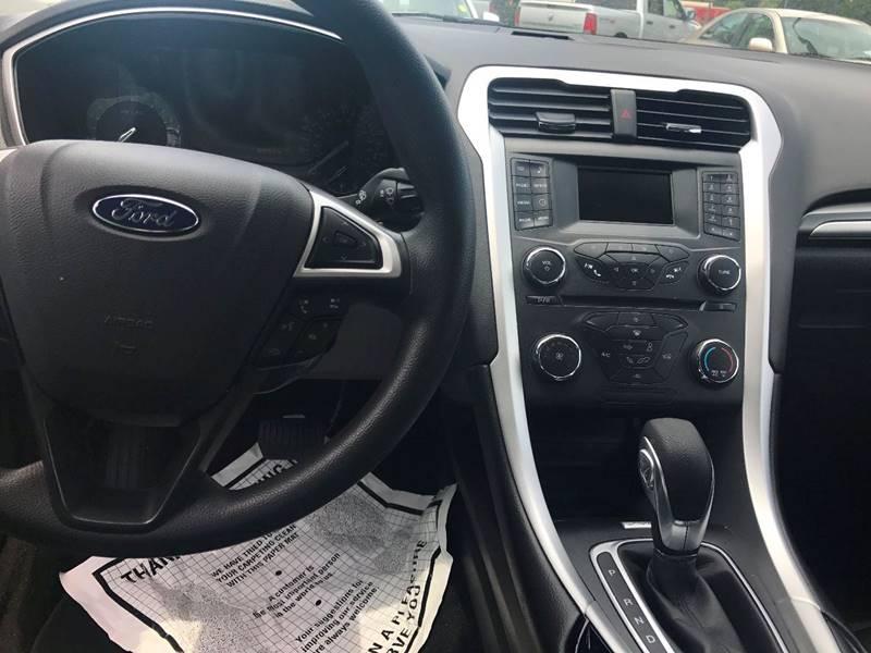 2016 Ford Fusion SE 4dr Sedan - Brookhaven MS