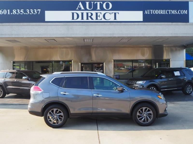 2016 Nissan Rogue SL 4dr Crossover   Brookhaven MS