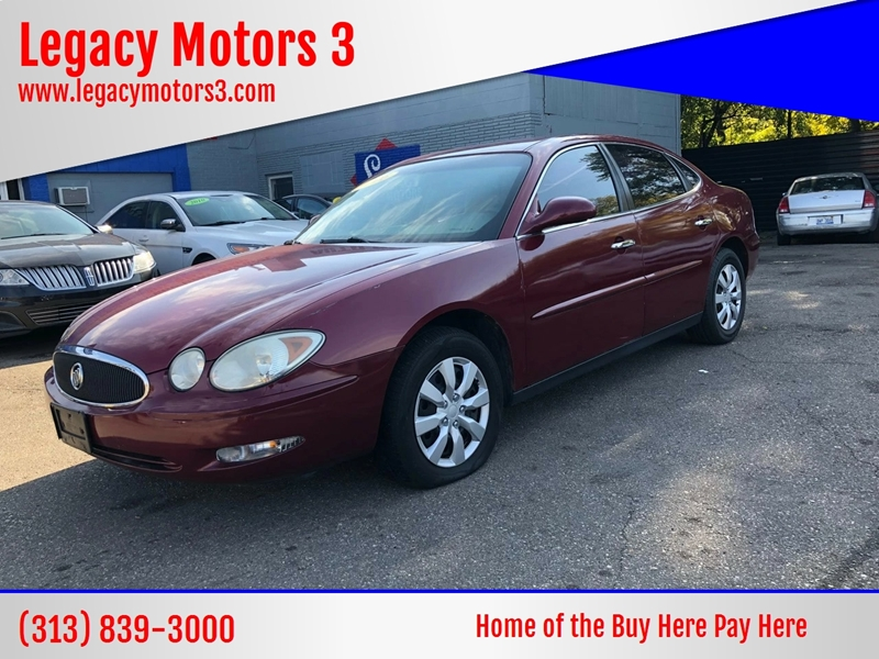 2006 Buick Lacrosse car for sale in Detroit