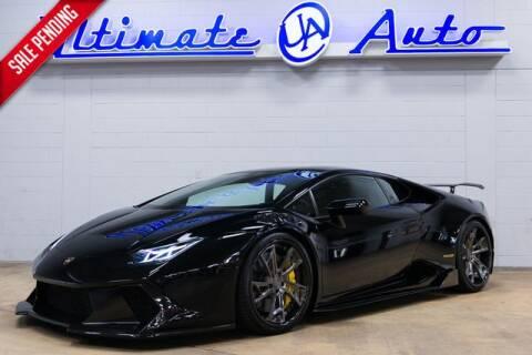 2016 Lamborghini Huracan LP 610-4 for sale at Ultimate Auto in Orlando FL