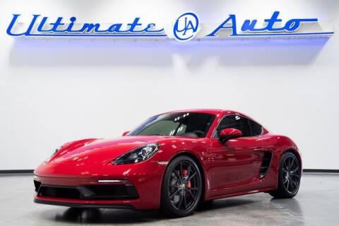 2018 Porsche 718 Cayman GTS for sale at Ultimate Auto in Orlando FL