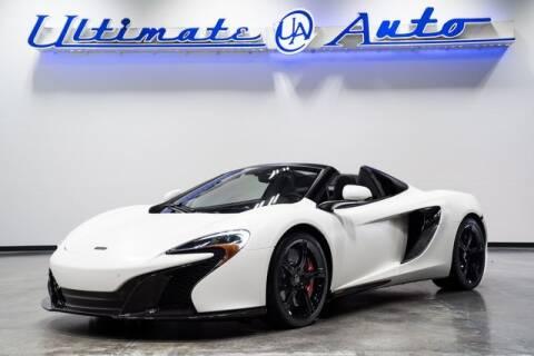 2015 McLaren 650S Spider for sale at Ultimate Auto in Orlando FL