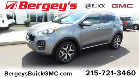 2018 Kia Sportage for sale at Bergey's Buick GMC in Souderton PA