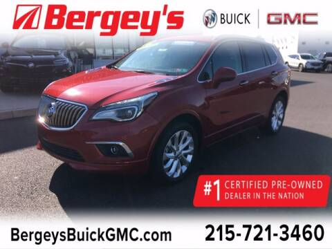 2016 Buick Envision for sale at Bergey's Buick GMC in Souderton PA