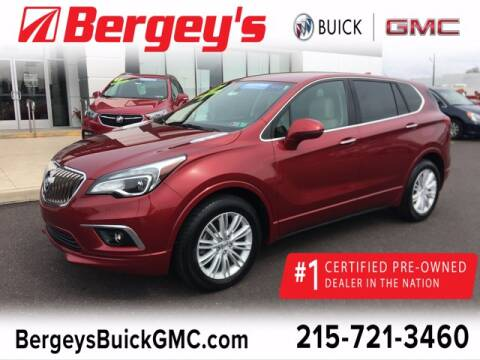 2017 Buick Envision for sale at Bergey's Buick GMC in Souderton PA