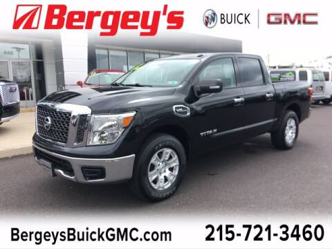 2017 Nissan Titan for sale at Bergey's Buick GMC in Souderton PA