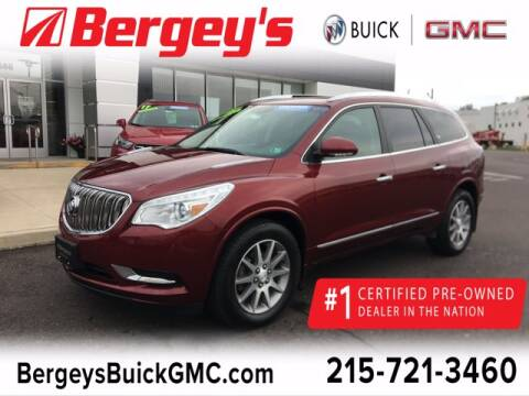 2016 Buick Enclave for sale at Bergey's Buick GMC in Souderton PA