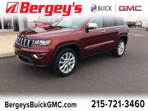2017 Jeep Grand Cherokee for sale at Bergey's Buick GMC in Souderton PA