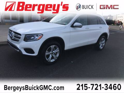 2017 Mercedes-Benz GLC for sale at Bergey's Buick GMC in Souderton PA