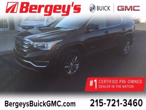 2017 GMC Acadia for sale at Bergey's Buick GMC in Souderton PA