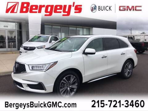 2018 Acura MDX for sale at Bergey's Buick GMC in Souderton PA