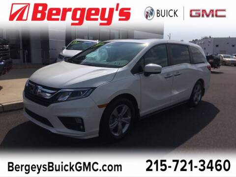 2018 Honda Odyssey for sale at Bergey's Buick GMC in Souderton PA
