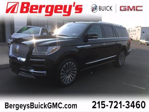 2019 Lincoln Navigator L for sale at Bergey's Buick GMC in Souderton PA