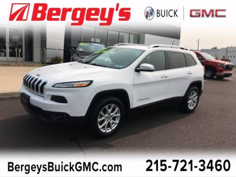 2017 Jeep Cherokee for sale at Bergey's Buick GMC in Souderton PA