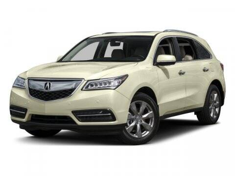 2016 Acura MDX for sale at Bergey's Buick GMC in Souderton PA