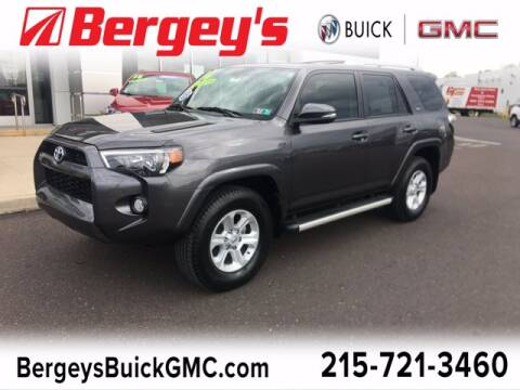 2016 Toyota 4Runner for sale at Bergey's Buick GMC in Souderton PA