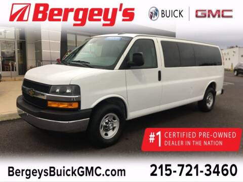 2019 Chevrolet Express Passenger for sale at Bergey's Buick GMC in Souderton PA