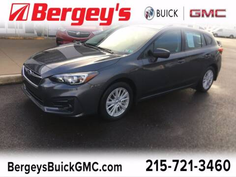 2018 Subaru Impreza for sale at Bergey's Buick GMC in Souderton PA