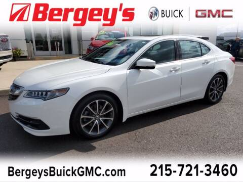 2015 Acura TLX for sale at Bergey's Buick GMC in Souderton PA