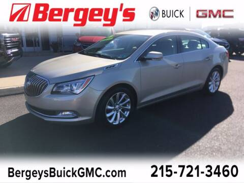 2014 Buick LaCrosse for sale at Bergey's Buick GMC in Souderton PA