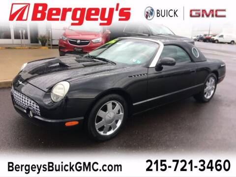 2002 Ford Thunderbird for sale at Bergey's Buick GMC in Souderton PA